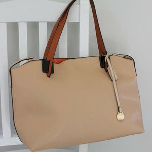 Fashion Handbag Shoulder Bag Travel Tote Cream New